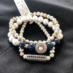 Lucky brand semi precious bracelet